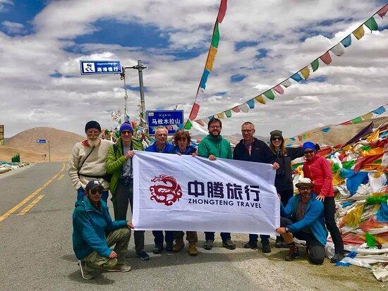 Lhasa, China: Unsere Gruppe zum Mount Kailash.