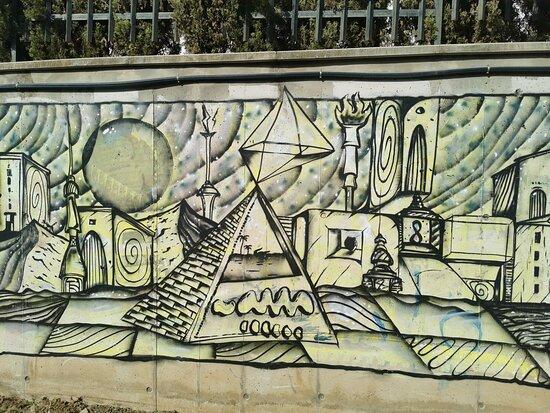 Rincon de la Victoria, Spanien: Mural