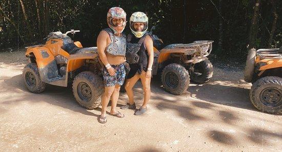 Ảnh về Cancun Adventure Tour at Selvatica: Zipline, Aerial Bridge, Buggy, Bungee Swing and Cenote Swim