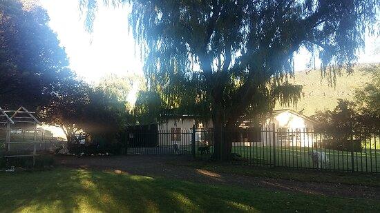 Barkly East, Južna Afrika: Mainhouse besides the Cottage