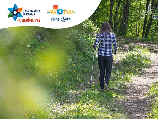 Did you know that Karlovac county has 18 routs for Nordic walking? It is one of the best ways to explore this county full of diversity-