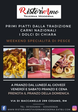 Offerte Pranzo - 羅馬Ristoriamo Taverna Moderna的圖片 - Tripadvisor