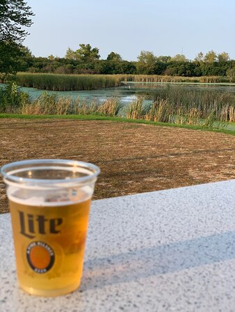 Wauconda, IL: Great patio space to enjoy a drink and the view