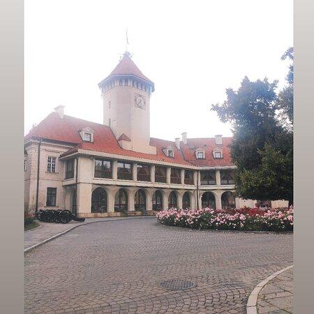 Pultusk, Pologne : Zamek Biskupów Płockich