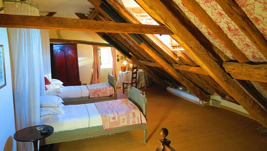 Calvignac, France: notre chambre