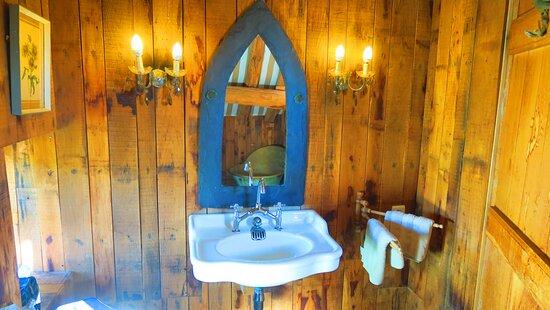 Calvignac, France: salle d'eau