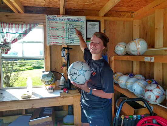 Canaan Valley, WV: Julia Gerow shattered a major Chip Shots record!  Julia is now the top-scoring female with a 59.  The first gal to break 60!  Julia & Nate – thanks so much for making us a part of your vacation.  Hope you had a blast at Seneca Rocks.