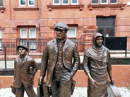 Wigan Mining Statue