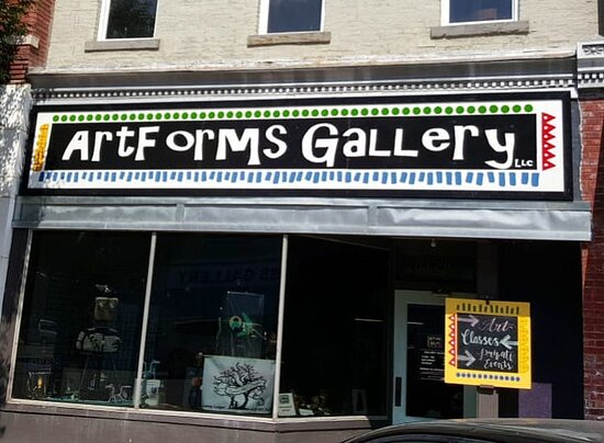 Pittsburg, KS: ArtForms Storefront