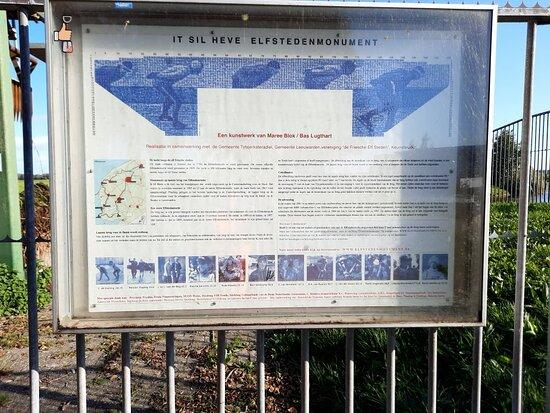 Elfstedenmonument Tegeltjesbrug