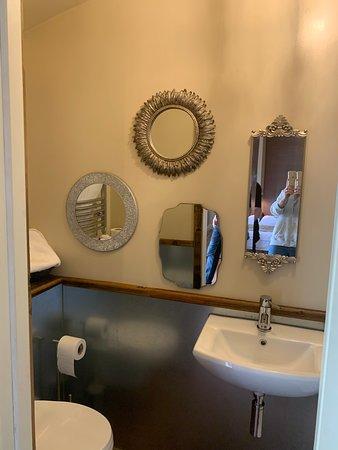 Badingham, UK: Full size shower room