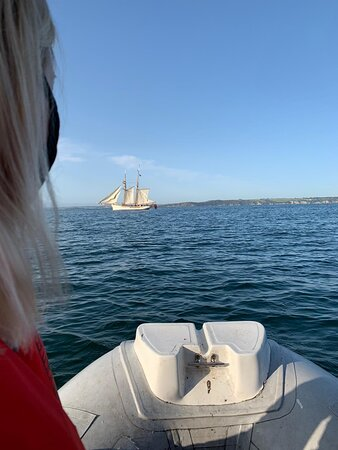 Polruan, UK: Boat trip