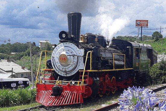 Trem Maria Fumaca em Gramado