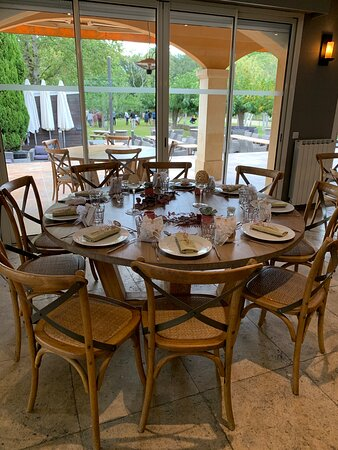 Aubais, Francia: Salle du restaurant