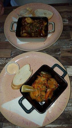 Uithoorn, Belanda: Shrimps and beef; both really good