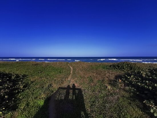 Moi à la plage - Picture of Blind Creek Beach, Fort Pierce