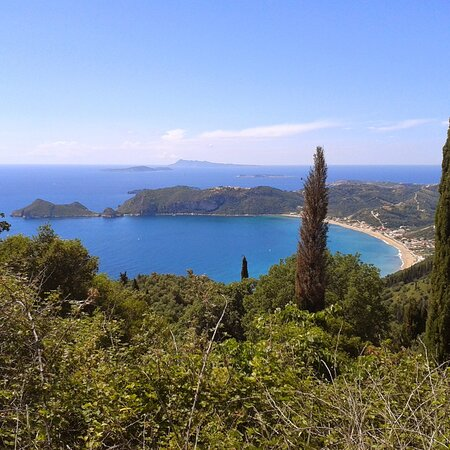 """Corfu, Greece: """"Gradually the magic of the island settled over us as gently and clingingly as pollen."""" - Gerald Durrell"""