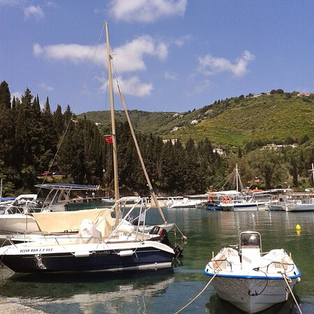 """Corfu, Greece: """"Land was created to provide a place for boats to visit."""" 😁 - Brooks Atkinson"""