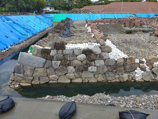 Sumpu Castle Tower Base Excavation Site