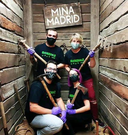 MINA MADRID Escape Room