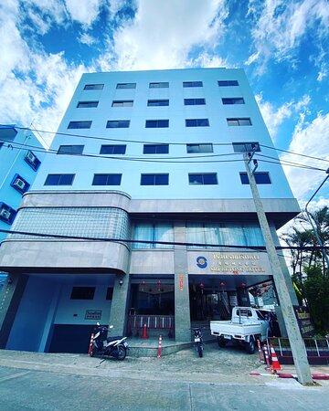 โรงแรมตั้งอยู่ใจกลางเมือง