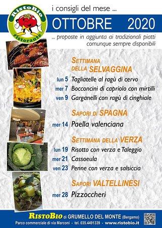 Ristobio: Welcome autunno! Scopri le nostre iniziative culinarie...