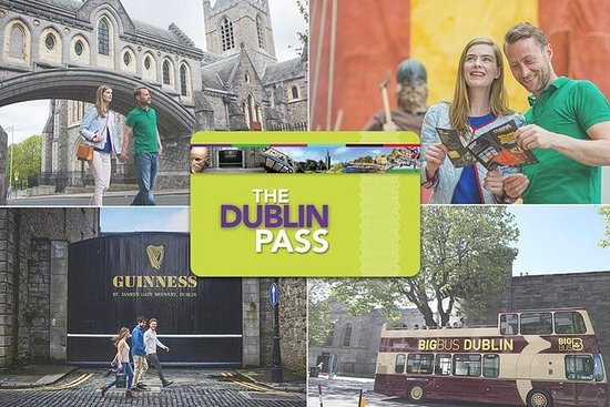 Go Dublin Pass with Hop-On Hop-Off Tour and Entry to Over 35...