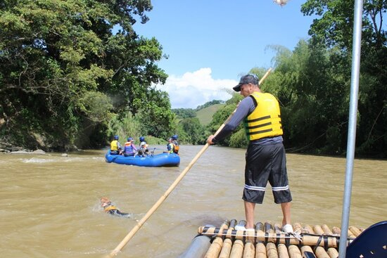 Balsaje Por El Rio La Vieja