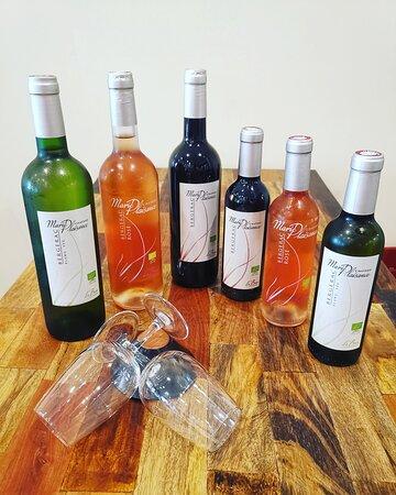 En Blanc, Rouge ou Rosé venez déguster nos vins bio de Bergerac, Château Marie Plaisance. 🍷