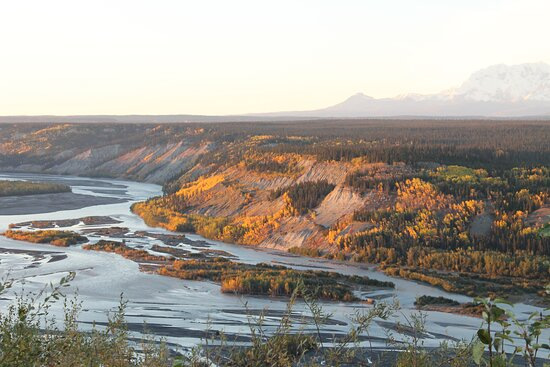 Copper River on the road to Chitina