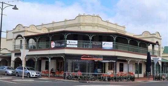 Zen Coffee Lounge on the ground floor