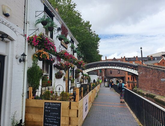Worcester Bar Footbridge