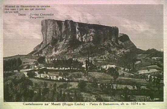 Castelnovo ne' Monti, Itália: Pietra di Bismantova