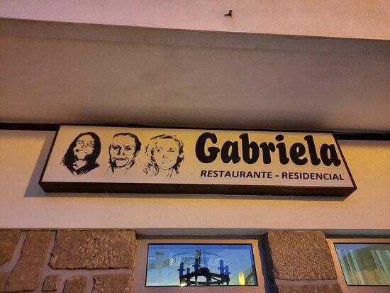 Sendim, פורטוגל: Entrada para o restaurante.