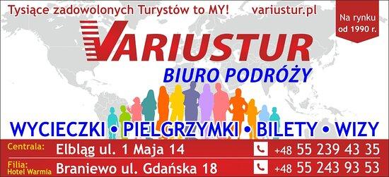 Elbląg, Polska: Biuro Podróży Variustur- podróżuj z nami!