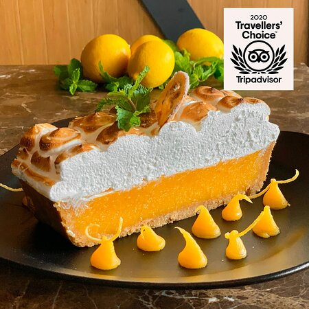 If you won't go to the mountain of meringue, let the mountain of meringue come to you.   Get our new Lemon Meringue delivered via your fave delivery app.