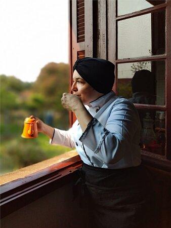 ... um café para contemplar as horas?!!!