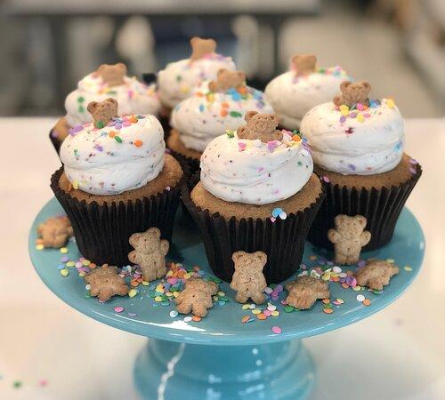 Dunkaroo cupcakes