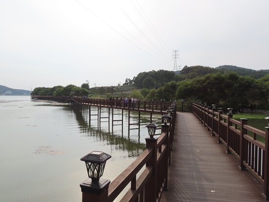 Tapjeongho lake