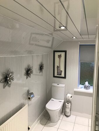 Newly refurbished shower room for our double/twin
