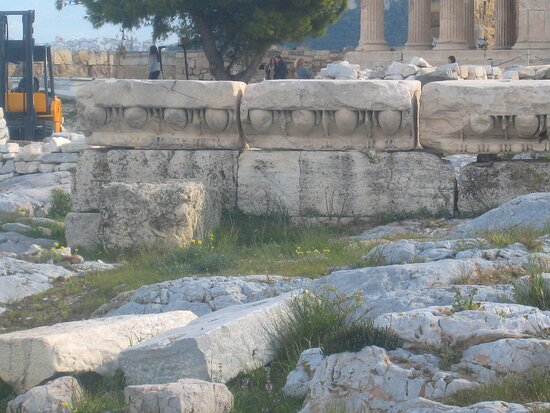 Statue Of Athena Promachos