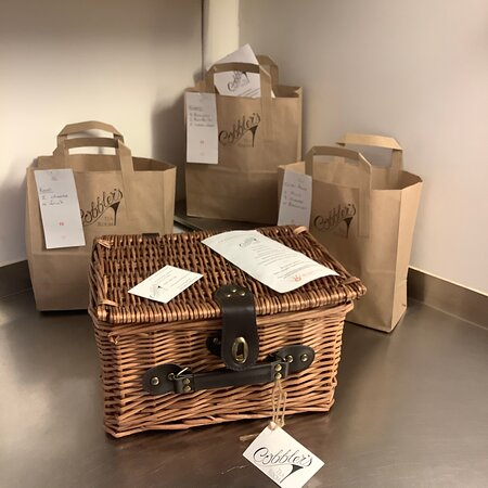 Customer orders and welcome packs for local holiday cottages.