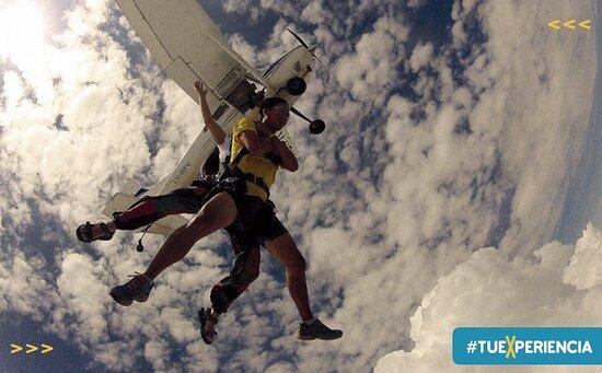 Argentina Central, Argentina: Parachute jump.