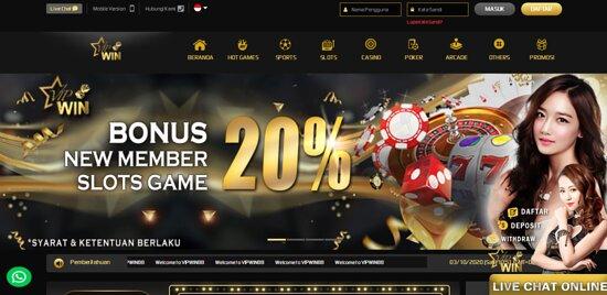 Vipwin88 Merupakan Situs Slot Online Indonesia Dengan Permainan Casino Online Terlengkap Selain Permainan Casino Vipwin88 Juga Memberikan Permainan Judi Bola Online Dan Memiliki Peran Sebagai Agen Judi Casino Online Yang Memiliki Bonus