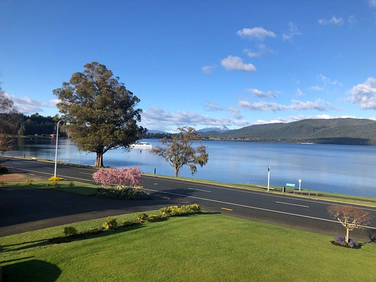 Lake view from our premium room - great to wake up to !!