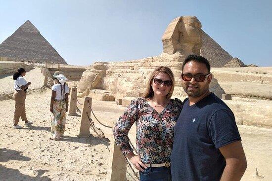 omvisning til Pyramidene i Giza og...