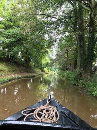 Norbury, UK: Beautiful Shropshire Union Canal