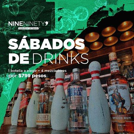 Sábados de drinks