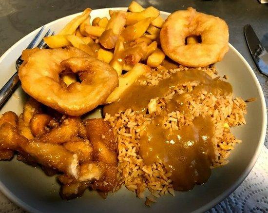 Yoohoo Chinese: Shredded honey and garlic chicken