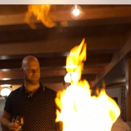 Flambiertes  Gourmet- Erlebnis